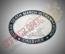 buckle - bataan death march ultramarathon